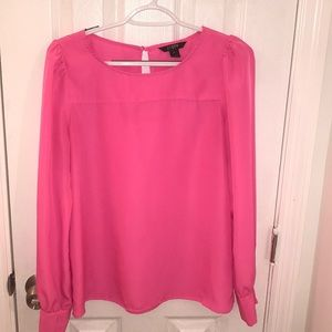 J CREW Pink Blouse